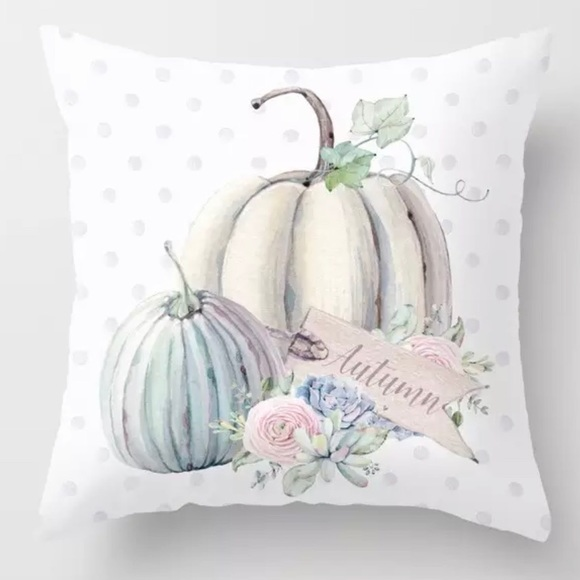 Other - Pillow Cover Dotted Autumn